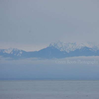 Olympic Mountains and Puget Sound